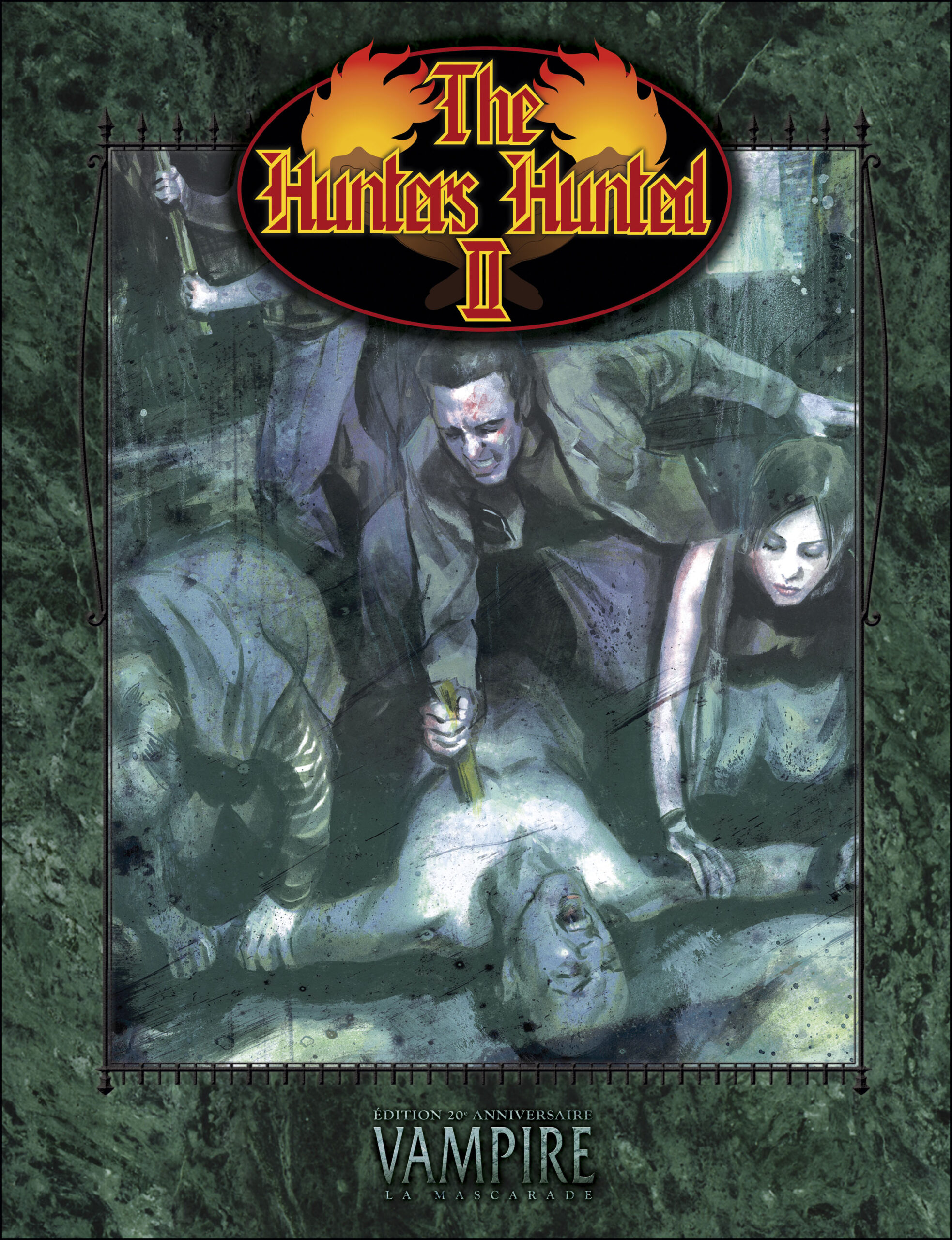 couverture d'Hunter hunted 2
